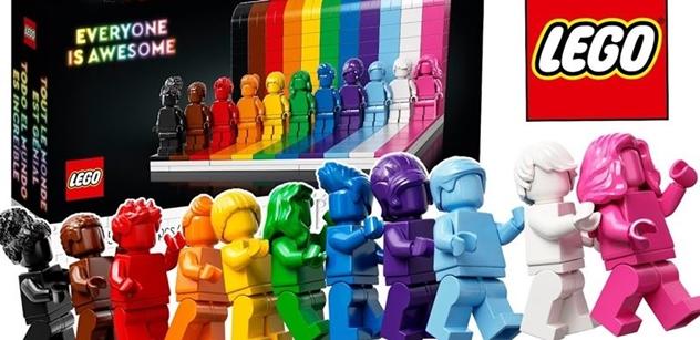 """Duhové Lego pro menšiny. Připravte si devět stovek na """"kývnutí na všechny báječné"""""""
