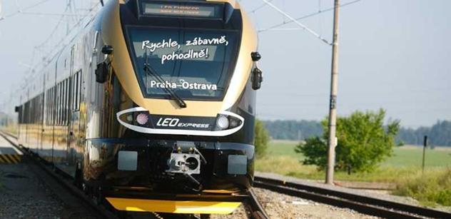LEO Express v příštím týdnu sveze první cestující
