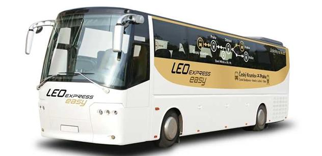 LEO Express rozšiřuje síť o návazné autobusy do jižních Čech