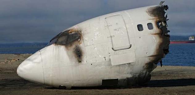 Na Ukrajině se zřítilo vojenské letadlo