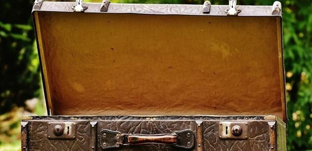 Lodní kufr Miloše Hoznauera