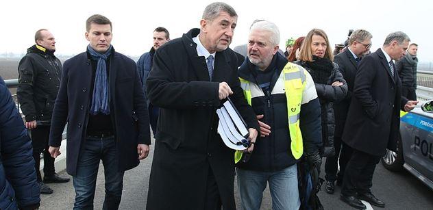 Babiš se prý velmi divil, že dostavbu moravské dálnice blokuje křeček polní