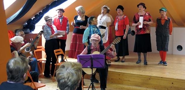 Praha 5: Podzim tanečního souboru Marietta