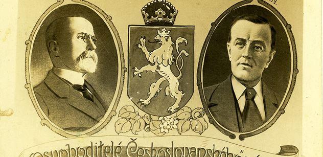 """Když """"profesor Amerikán"""" konečně u Wilsona prosadil československou věc. S historickým publicistou Zdeňkem Čechem o klíčových krocích ke vzniku státu"""