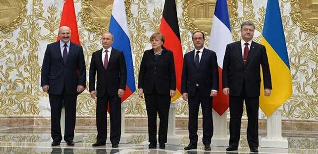 Úřad francouzského prezidenta: Dodržování příměří na Ukrajině je celkově uspokojivé