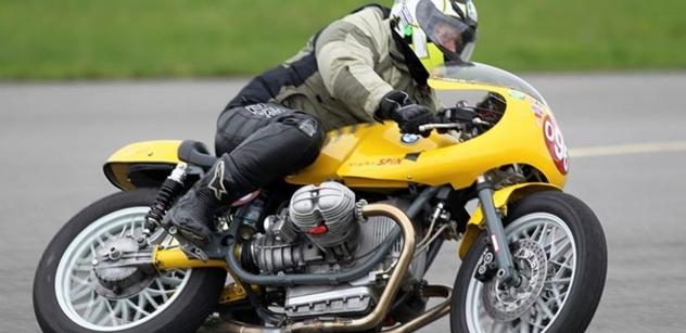 Autodrom Most zkrášlí historické závodní motocykly