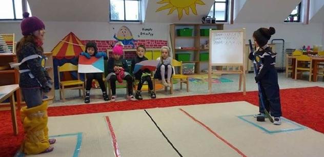 Předškoláci z ACADEMIC SCHOOL mají vlastní olympiádu!