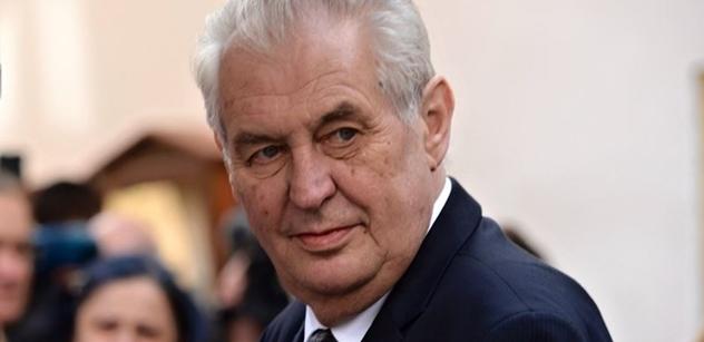 """Ještě 5 procent. Miloš Zeman je vysoko a možná směřuje k totální ,,bombě"""", jakou si přejí jeho fanoušci"""