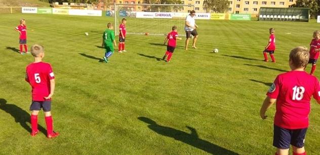 Autodrom Most: Nadační fond podpořil mladé fotbalisty