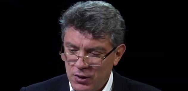 Při vší úctě k památce Borise Němcova... Tereza Spencerová se rozepsala o tajemných okolnostech jeho zastřelení