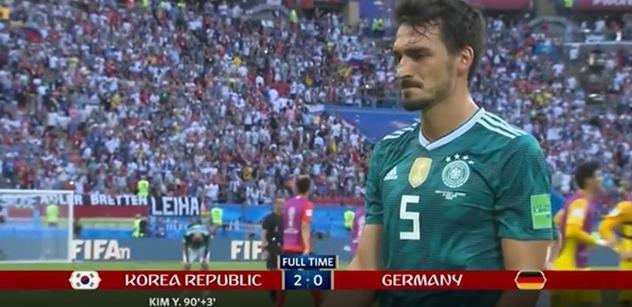 Německo do hajzlu, v Rusku mu to nikdy nešlo. Vyvolá další válku? Šok po krachu Němců na mistrovství světa ve fotbale