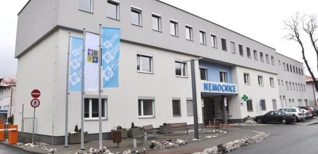 Vsetínská nemocnice získala od města dotaci na vybavení nové interny