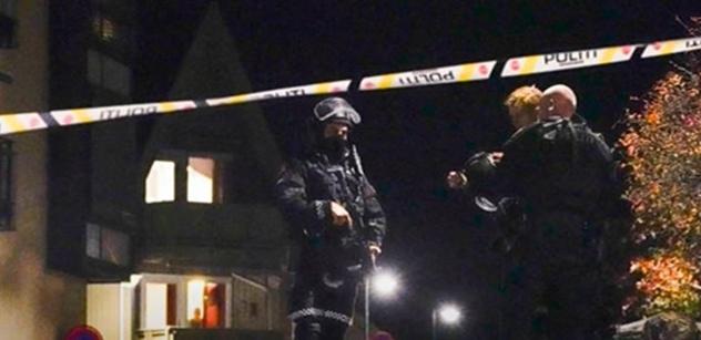 """Norsko: Nejen luk. """"Muslimský Vilém Tell"""", vrah pěti lidí, toho měl víc"""