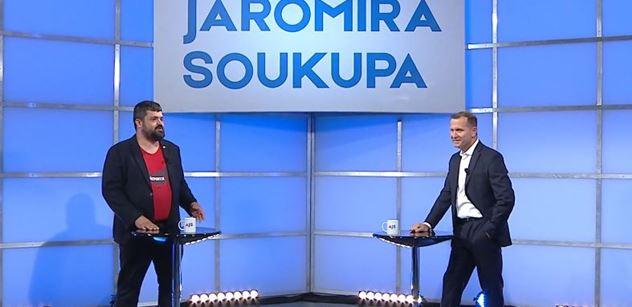 Pavel Novotný se u Soukupa ostře pustil do voličů SPD: Ty být pitomec, že ho volit