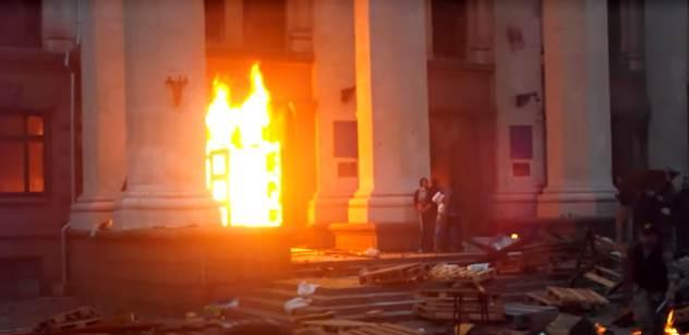 """Tohle jsou civilizovaní Evropané? Výrok """"V Oděse je upálili"""" udělal rozruch v Rusku i na Donbasu, ke smíření Východu a Západu moc nepřispěl. Podívejte se"""