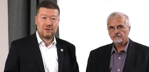 Říkejme tomu cenzurní úřad. Okamura s Ivanem Davidem shrnují novinky, které na nás nachystali v Bruselu