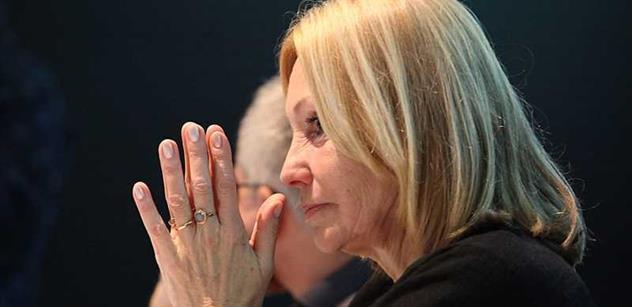Růžena Chrasteková: Brutálně sprostá Sommerová, toužící po diktatuře menšiny