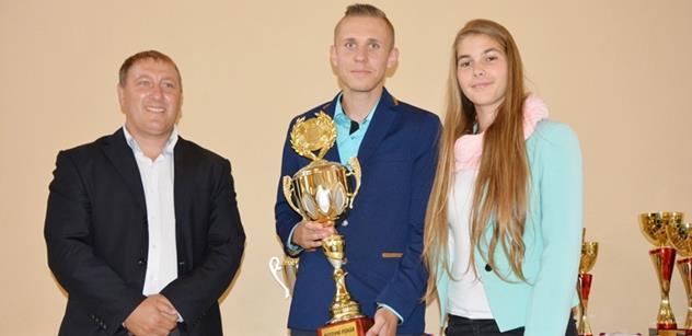 Mladí sportovci Pardubického kraje oceněni za výsledky v Krajské olympiádě dětí a mládeže
