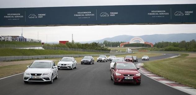 Autodrom získal ve společnosti Volkswagen Financial Services silného partnera