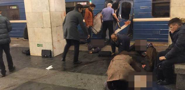 Bašta k teroristickému útoku v Petrohradě: Já jsem si četl ruské sociální sítě a...