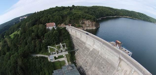Povodí Moravy: Rekonstrukce vranovské hráze je u konce