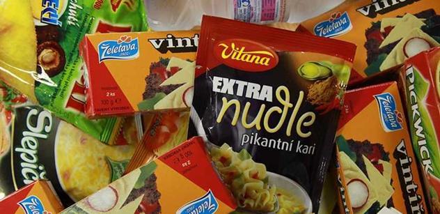 V celé EU se nákup potravin loni nejvíce prodražil v Česku