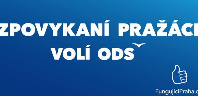 """FOTO """"Zpovykaní Pražáci volí ODS."""" Víme, co se chystá proti primátorce Krnáčové"""