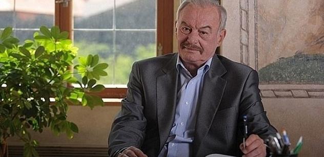 """Sobotka (ODS): Odešel """"malý velký muž"""", můj osobní i politický kamarád"""