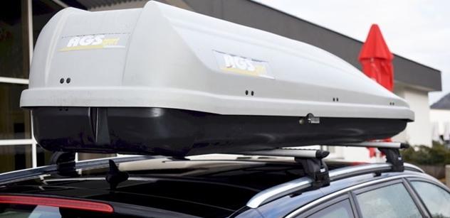 Autodrom Most: Na kluzkých silnicích je důležité i správné upevnění nákladu ve voze