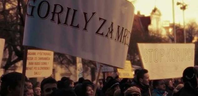 Tisíce lidí znovu protestovaly v Bratislavě. Pak odešly na Landu