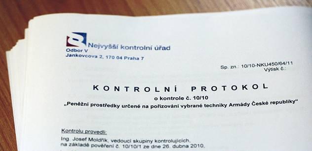 NKÚ zveřejnil zprávu o kontrole komunikačních a informačních technologií na MŽP, ČHMÚ a CENIA za období let 2010-2013