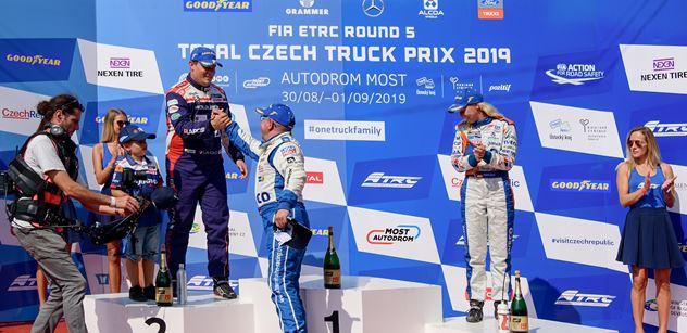 Autodrom Most: Ústecký kraj podpořil Czech Truck Prix