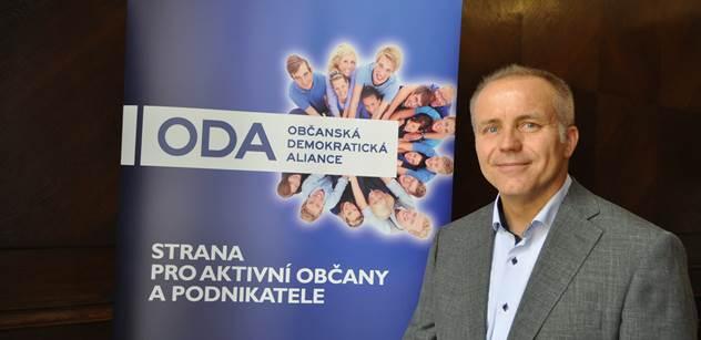 ODA proti pokutě od dohledového úřadu nad stranami podá žalobu