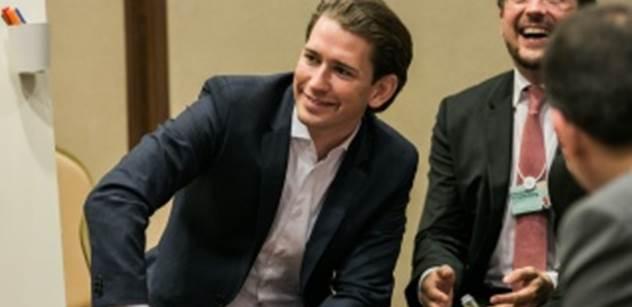 Rakouský premiér Kurz promluvil bez politické korektnosti: Máme tady moc muslimů...