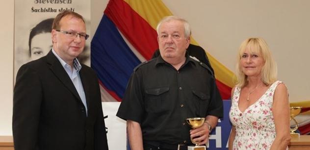 Lachnit (ANO): Šachový turnaj SENIOR-KA oslaví dvacetiny