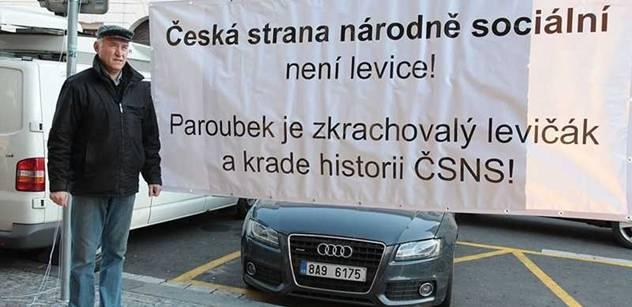 Aktivista Šinágl kandiduje na Hrad. Podporuje ho Čáslavská či Kubišová