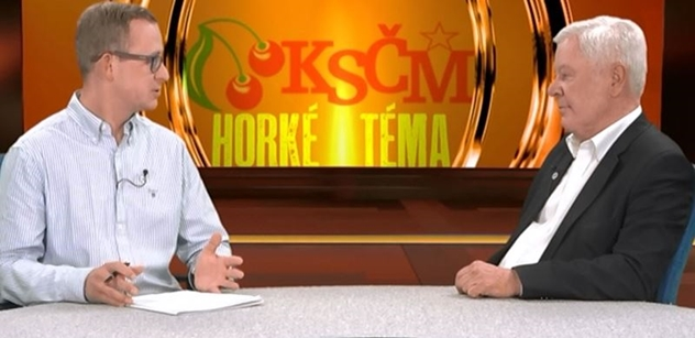 Radikální vystoupení kandidáta na šéfa KSČM Josefa Skály: Prohráli volby, krčí se v parlamentní menšině, vztekají se. A Babišovi chtějí svázat ruce!