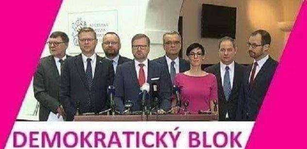 """""""Demokratický blok""""? Kašleme na vás, sdělili prý Piráti ostatním"""