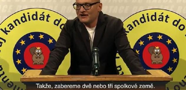 """Dotace na sex! Snídaně, obědy a večeře zdarma. """"Konečnýho řešení"""" pro EU-volby, musíte vidět"""