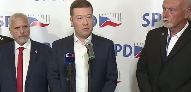 Okamura (SPD): Výborné. Novým premiérem Velké Británie bude Boris Johnson