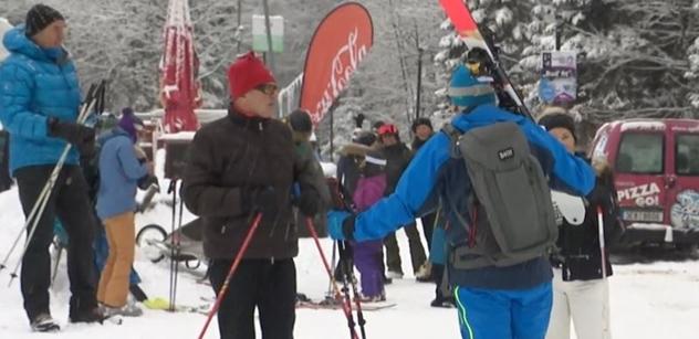 """Ivan Mládek to předpověděl? """"Špindl"""" nacpaný: Vláda chce lyžařům zatnout tipec"""
