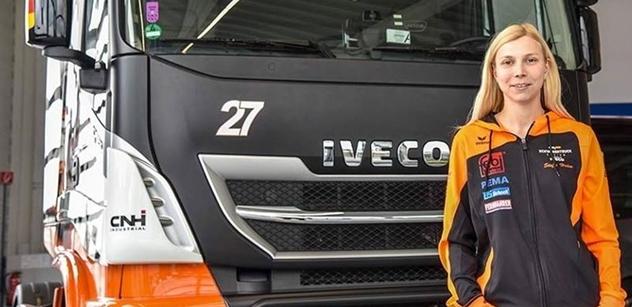 Steffi Halm posílí tým Schwabentruck, MAN vyměnila za Iveco