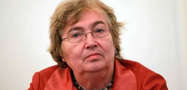 Petruška Šustrová se zastala vlády ve věci pádu Lessyho