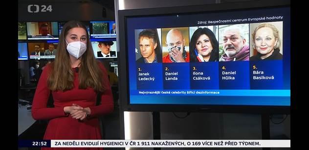 """Jandovo tablo dezinformátorů a průšvih Newsroomu ČT. Porušení zákona, rozhodla """"velká rada"""""""