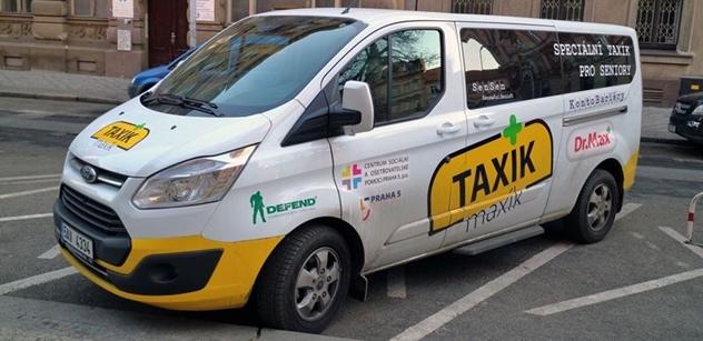 Praha 5: Taxík Maxík je nová služba Centra sociální a ošetřovatelské pomoci Praha 5