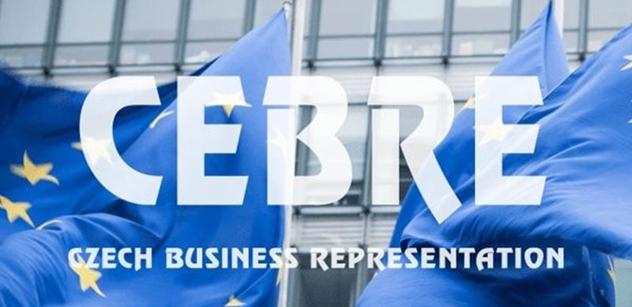 CEBRE: Záchranný plán EU - ČR by měla nastartovat šťastnou ekonomickou periodu