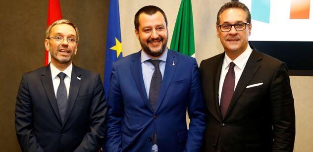 Salvini výrazně přitvrdil vůči migrantům. Jde o deportace