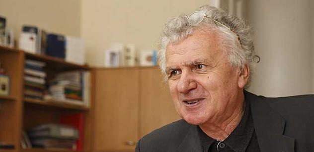 Klausův muž a otec privatizace Tříska: Naše země je ve vynikající formě