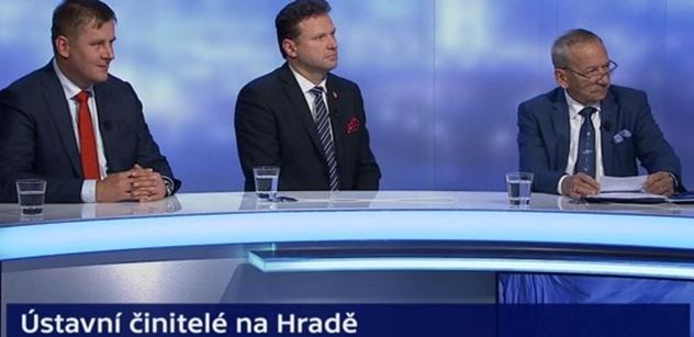 Kubera v ČT rozjel kritiku EU. Michal Kubal skákal do řeči, šéf Senátu se nedal