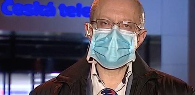 Profesor Dušek varovně ke covidu: Dostali jsme se na reprodukční číslo 1, ale pozor!